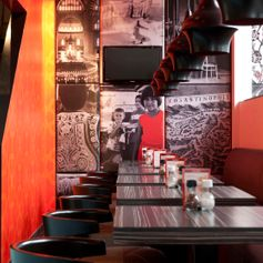 Interieurarchitect IC MIMAR Turks restaurant