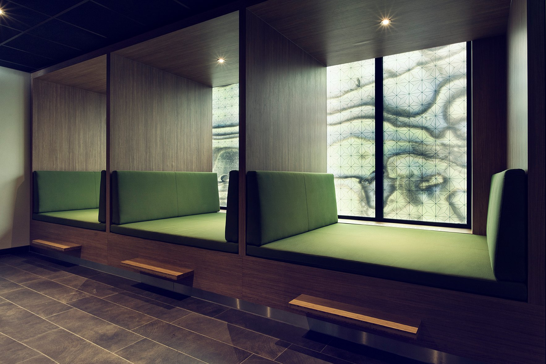 Interieurarchitect Spa-welness-lounge